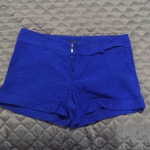 AQUA by Bloomingdale's size small blue shorts